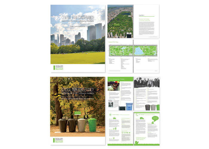 Turf Care Handbook and Trash Management and Recycling Handbook