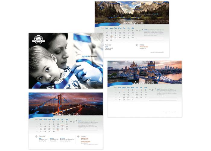 Cepheid 2016 Wall Calendar