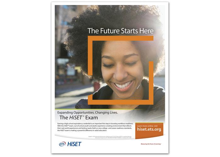 HiSET Advertisement