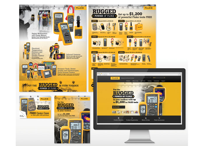 Rugged Power of Fluke Promotion