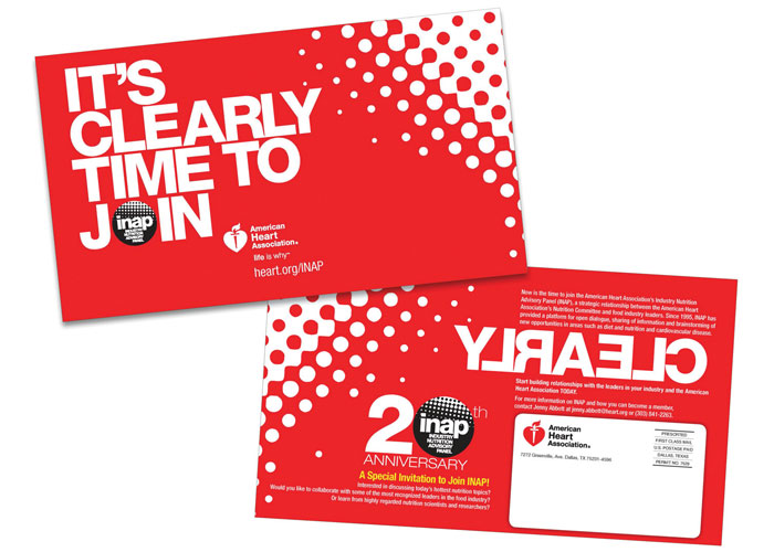 INAP Membership Invitation Post Card