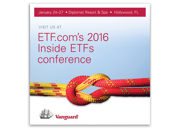 Vanguard's Inside ETFs Conference Direct Mail