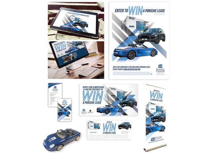 Porsche Promotional Giveaway