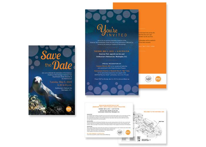 National Zoo Dedication Reception Invitation