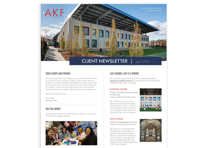 AKF Client Newsletter