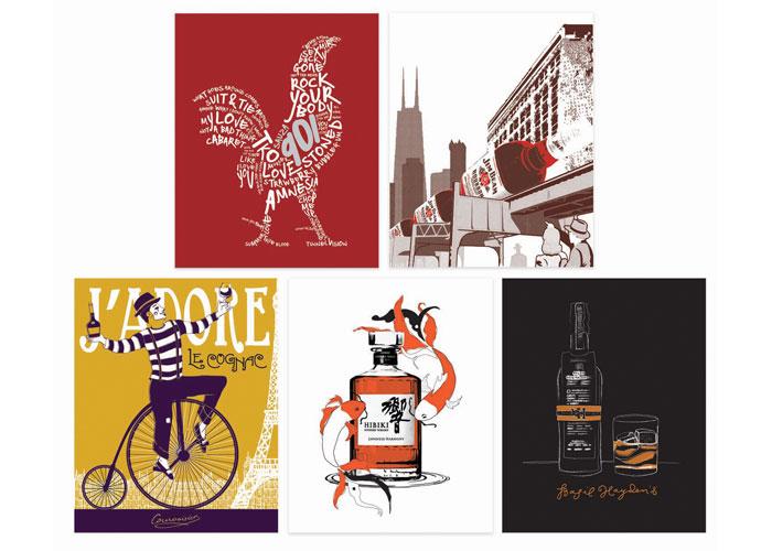 Branded Art for Holiday Bazaar