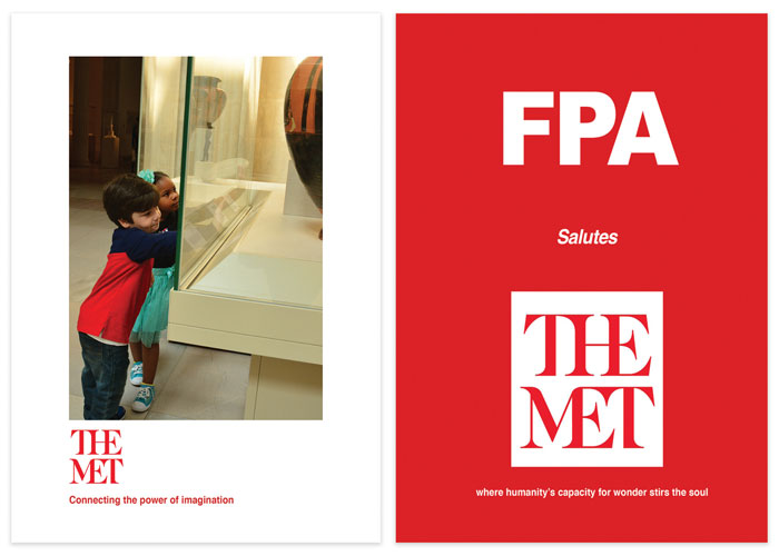 FPA Salutes The MET Spring Dinner 2016 Invite and Program