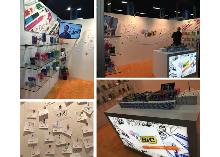 2016 Vegas PPAI Trade Show Love My Bic Campaign