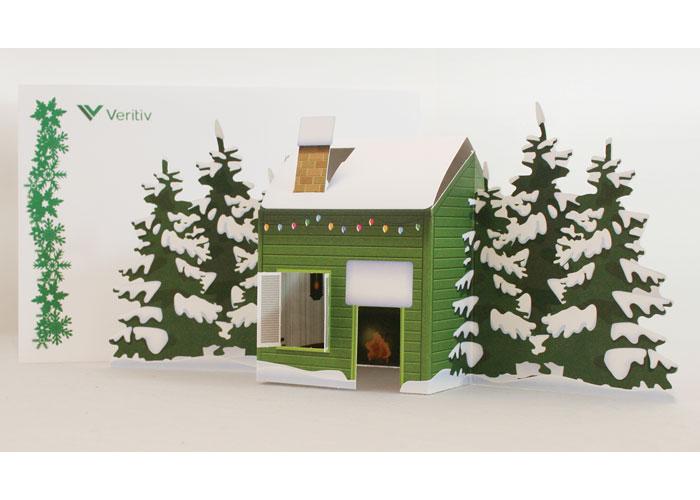 Veritiv 2015 Holiday Pop-Up Card