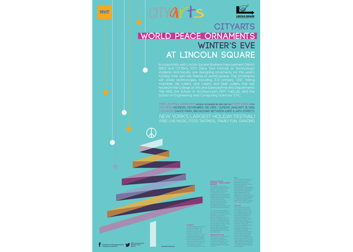 World Peace at Winter's Eve Poster