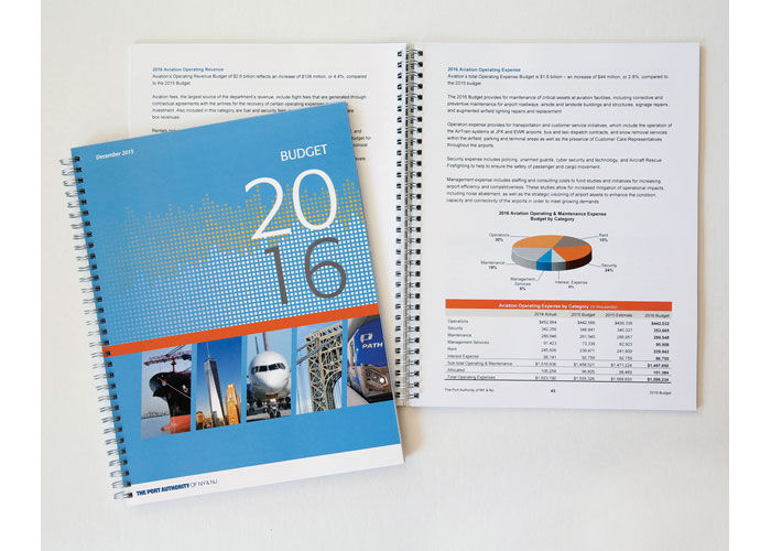 2016 Port Authority Budget Book