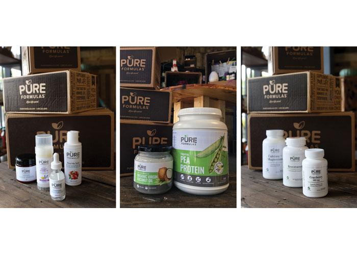 PureFormulas Private Label Packaging