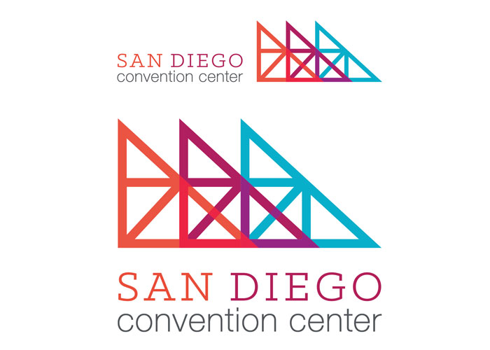 San Diego Convention Center Corporation Logo Redesign