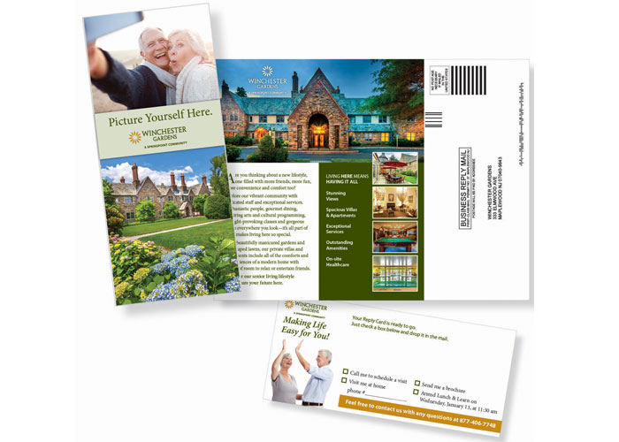 Picture Yourself Here Direct Mail