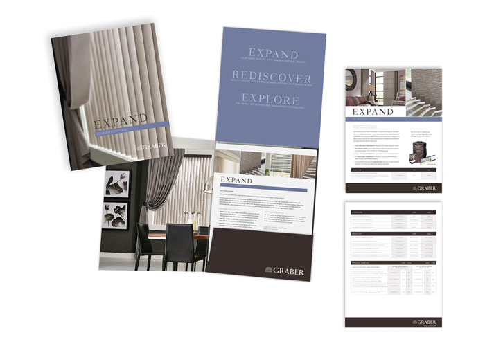 Graber Vertical Blinds Launch Kit