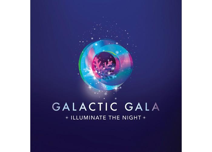 Galactic Gala Logo and Identity