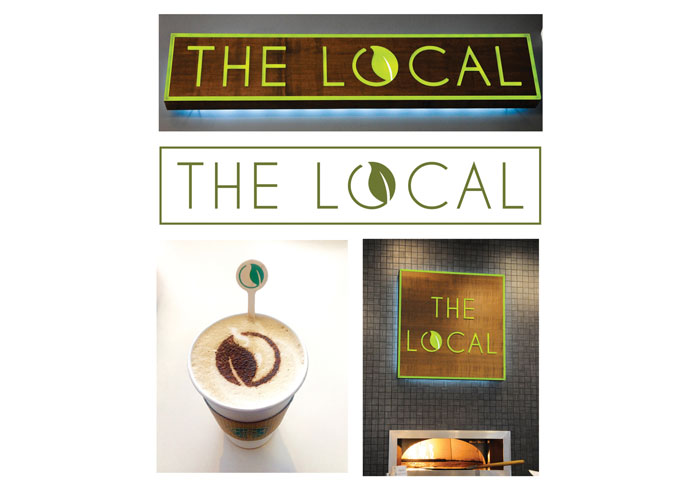 The Local Logo and Identity