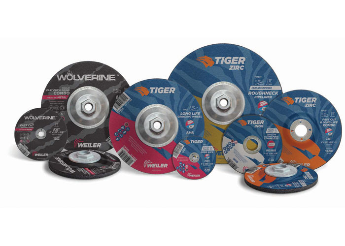 Weiler Bonded Abrasives Product Label Design