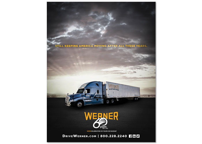 Werner 60th Anniversary Advertising