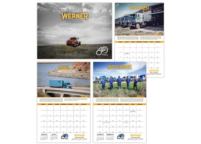 Werner 2016 Calendar