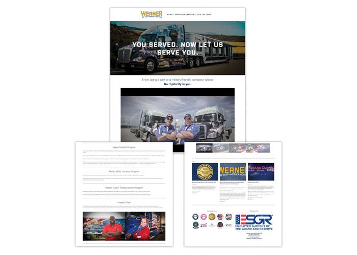 WernerHiringHeroes.com Website