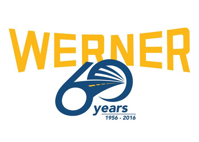 Werner 60 Year Logo