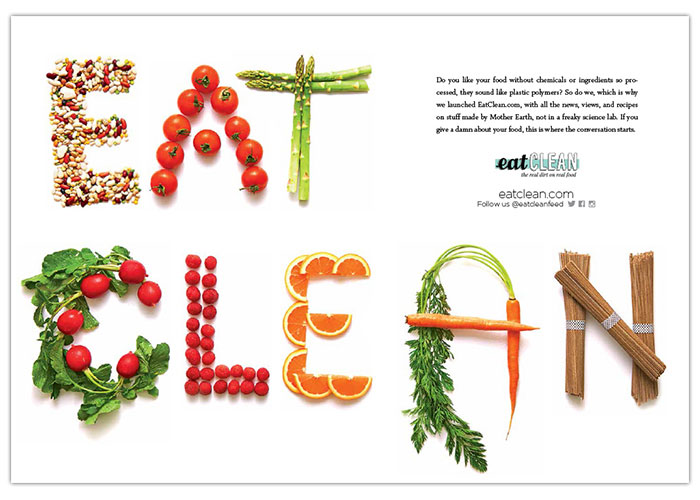 Eat Clean Advertising