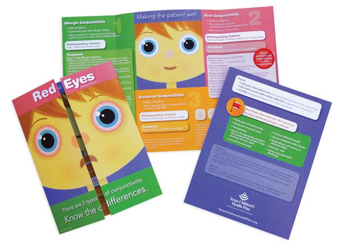 Conjunctivitis Brochure by Texas Children's Health Plan