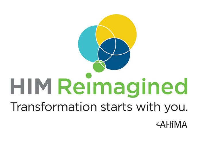 HIM Reimagined Logo by Lisa Cain Design