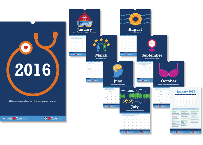 Tufts Medical Center 2016 Calendar by Tufts Medical Center
