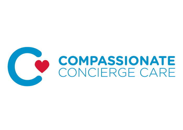 Campassionate Concierge Care Logo by Nancy Reed Design