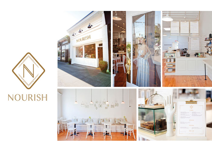 Nourish Retail Experience Design by arithmetic