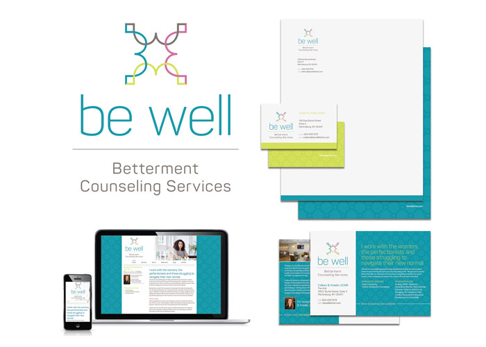 BE Well Branding by Native Design & Brand Communications