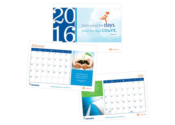 2016 Healthy Living Calendar by Aon Hewitt