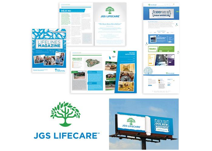 JGS Lifecare Branding by BRIGADE