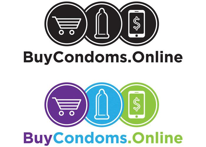 Buy Condoms Online Logo by Dark Horse Design