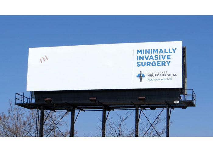 Minimally Invasive Surgery Outdoor Advertising