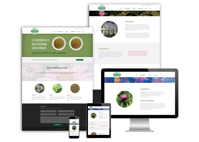 PhytoProof Website Design