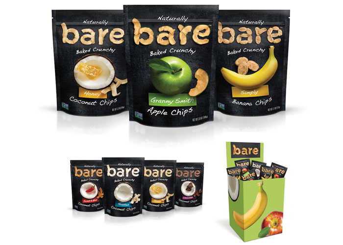 Bare Snacks Package Redesign