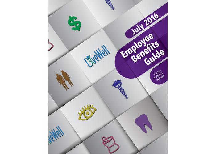 Employee Benefits Guide by Ron Kalstein/RKDK Design
