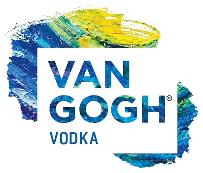 The new Van Gogh Vodka logo. (PRNewsFoto/Van Gogh Vodka)