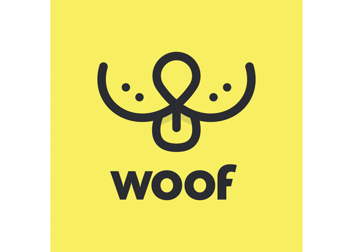 Woof Social Logo Design by Miskowski Design LLC
