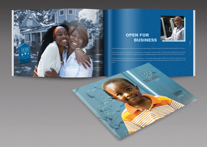 Hope House 2015 Annual Report by Pie in the Sky Designs