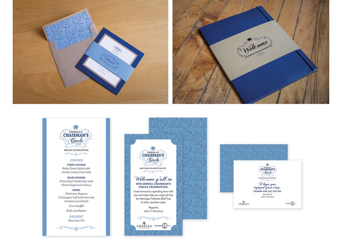 Chairman's Circle 2016 Branding and Identity by Roycroft Design