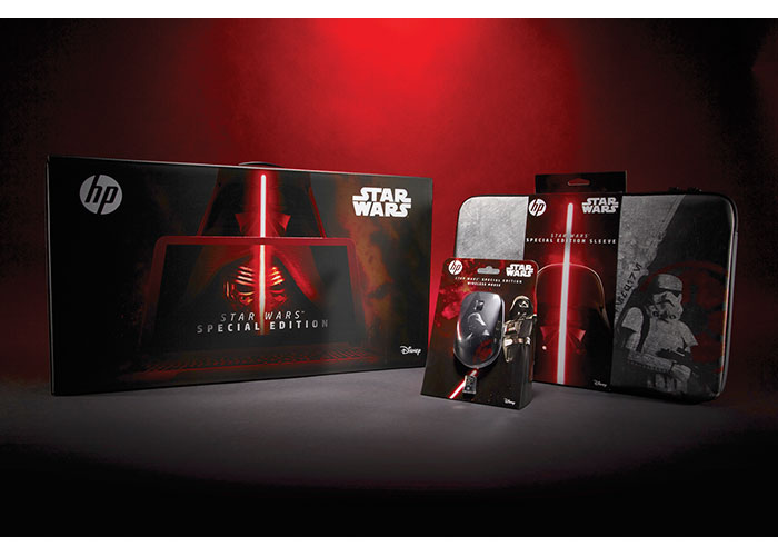 HP Star Wars Special Edition Notebook, Sleeve and Mouse Packaging by TracyLocke