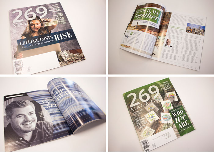 269 Magazine Publication Design by 2 Fish Company, LLC