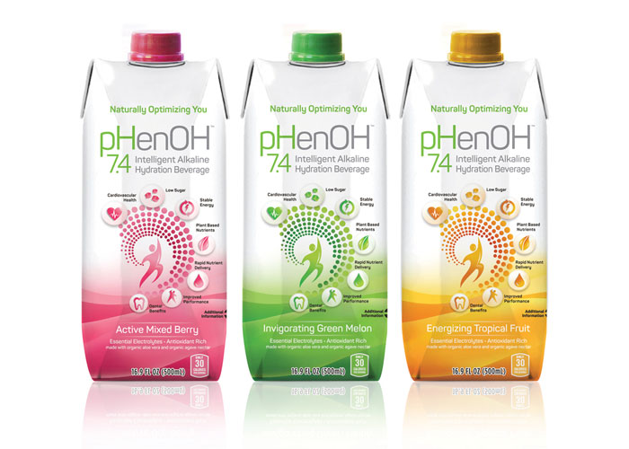pHenOH 7.4 Package Design by Johnson and McGreevy, Inc. (JAM)