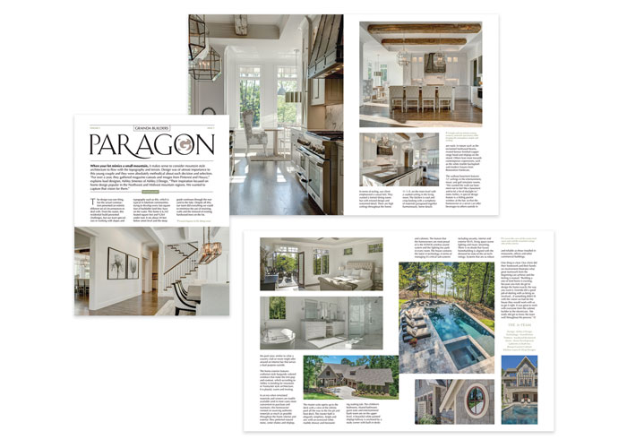 Grainda Builders Paragon Newsletter by Metropolis Branding