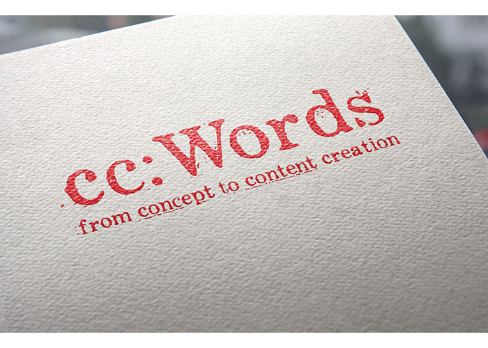 cc: Words Logo