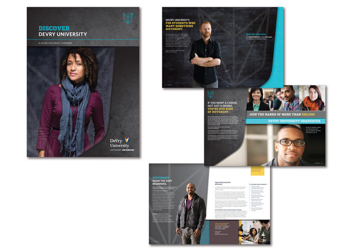 Discover DeVry University Brochure by Gerard